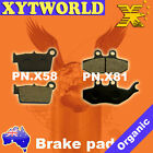 FRONT REAR Brake Pads BETA Urban 125 2008 2009 2010 2011 2012 2013 2014 2015