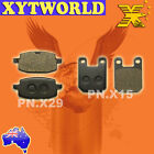 FRONT REAR Brake Pads for BETA R 125 4T Mini Cross