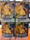 Lot of (4) 2015-16 Panini THREADS Basketball Sealed Blaster Box 2 AUTO RC or Mem