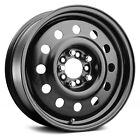 15x6 PACER Wheels +41  5x1143  72 83B BLACK MOD Rims Matte Black Set of 4