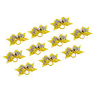 Elegant Deluxe Pet Tiny Rubber Band Hair Bow Clips Barrette for Dog Cat