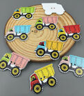 20pcs car Truck Sewing Wooden Buttons Scrapbooking Crafts Decorations 31mm