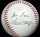WILLIE MAYS Signed Baseball TO THE DON San Francisco Giants Team Godfather