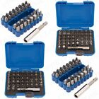 33 / 43Pc CR-V STEEL SCREWDRIVER BIT SET Magnetic Security Torq PZ Tri-Wing Hex