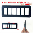 Professional 6 Way Car Off Road Boat Rocker Switch Panel Housing Holder For ARB