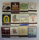 Vintage Lot of 12 Different Full Un Struck Las Vegas and Reno Match Books