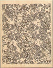 Rubber Stamp Paper Inspirations Large Paisley Background 2301