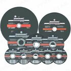 HEAVY DUTY METAL CUTTING / SLITTING / INOX / GRINDING DISCS For Angle Grinders