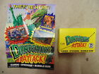 1988 Topps Dinosaurs Attack Wax Box 36 Unopened Packs With Poster Scarce