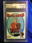 HOF BOBBY HULL 1971-72 TOPPS SIGNED AUTOGRAPH CARD #50 BLACK HAWKS PSA Authentic