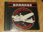 VERY RARE Barrage Constant Pounding 1991 Private Label CD 12 Tracks Heavy Metal