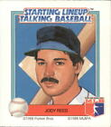 1988 Starting Lineup Red Sox #15 Jody Reed