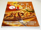 Books Weight Watchers Cook It Quick Cook Book Recipes Soft Cover