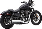 COBRA SPEEDSTER CHROME EXHAUST HARLEY SPORTSTER 1200 SEVENTY TWO FORTY EIGHT