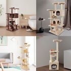 36 52 60 80 Cat Tree Tower Condo Furniture Scratch Post Kitty Pet House Play