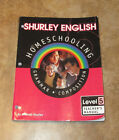 Shurley English Homeschooling Grammar Level 5 Teachers Manual Book
