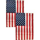 12x18 American Garden Flag 2 Pack USA United States of America US Flag