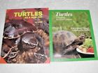 LOT  26B TWO BOOKS ON KEEPING TURTLES AS PETS