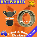 FRONT REAR Brake Pads Shoes KEEWAY Matrix 125 2006