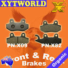 FRONT REAR Brake Pads KYMCO Jetix 50 2010 2011 2012 2013 2014 2015
