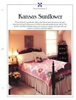 Kansas Sunflower Quilt  Block Best Loved Quilt pattern  templates