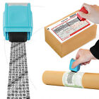 Broad-spectrum Mini Roller Seal Stamp Envelope Privacy ID Messy Code Protector