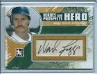 2011 ITG Heroes & Prospects Wade Boggs HERO AUTO AUTOGRAPH HOF RED SOX