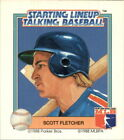 1988 Starting Lineup Rangers #4 Scott Fletcher