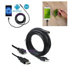Android Smartphone USB Endoscope Borescope Inspection Camera Snake for Samsung
