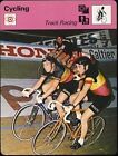 1977 Eddy Merckx Sportscaster Cycling Track Racing Card 04 05