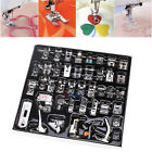 42PCS Domestic Sewing Machine Foot Presser Feet Set Snap On For Brother Singer