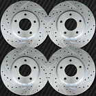 Geo Prizm SL 89 92 Brake Rotors F+R