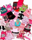 LOT 24 XS DRESSES SMALL DOG SIMPLYDOG LULUPINK SMOOCHIE POOCH CHIHUAHUA PUPPY