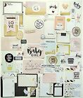 PROJECT LIFE CRATE PAPER LITTLE YOU 65 FOIL JOURNAL CARDS