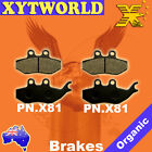 FRONT REAR Brake Pads PIAGGIO Beverly B 125 B 200 2002 2003 2004 2005 2006