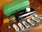 Vintage SINGER Buttonholer 160506 with Singer Branded Case w/6 templates