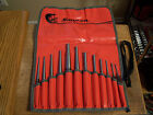 Snap on Tools 12 piece Pin  Starter Punch Set in Bag  PPSD120K Looks Unused