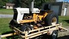 International Cub Lo Boy 185 Compact Tractor with Woods 59 mowing deck