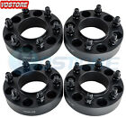4 15 6 Lug Hubcentric Black Wheel Spacers Adapter 6x135 for Ford F150 Raptor
