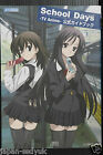 School Days TV Animation Official Guide Book 0verflow