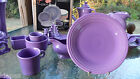 DINNER PLATE lilac HOMER LAUGHLIN FIESTA 10.5