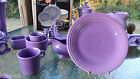 DINNER PLATE lilac purple HOMER LAUGHLIN FIESTA 10.5