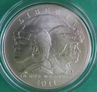 2011 BU US Army Commemorative UNCIRCULATED 90 Silver Dollar Coin with Box
