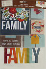 Simple Stories FAMILY Snap Pack 121 Cards  Die Cuts Save 40