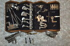 Vintage Antique SINGER 1889 sewing machine replacement parts and puzzle box