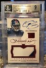 2014 Flawless Odell Beckham Jr Auto RC Ruby JSY Patch #'D 11 15 BGS .5