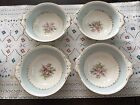 Homer Laughlin EGGSHELL GEORGIAN BLUE Soup Cereal Bowls~Set Of Four~H47N5