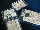 Mounted Stampin Up Rubber Stamps You Choose