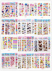 Puffy Scrapbook Kids Party Favors Crafts 3d stickers lot Teacher Reward gift