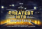 2016 Leaf Greatest Hits Basketball Hobby Box
